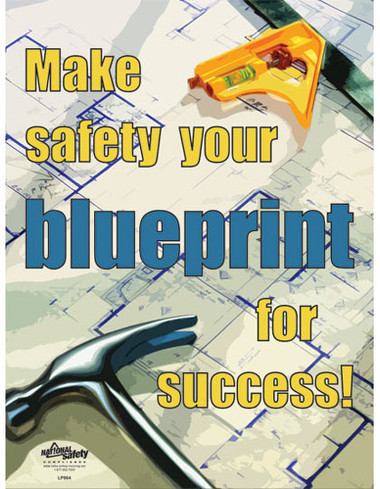 Blueprint for Success Safety Posters in ENGLISH  pic 1