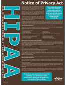 HIPAA Notice of Privacy Safety Posters in ENGLISH  pic 1