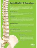 Back Health & Exercises Safety Posters in ENGLISH  pic 1