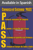 PASS Safety Poster in SPANISH  pic 1