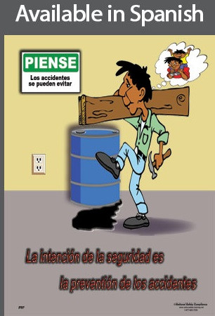 Accident Prevention Poster in SPANISH  pic 1