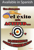 Key To Success Is Attitude Poster in SPANISH  pic 1