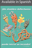 Faulty Wires Safety Poster in SPANISH  pic 1