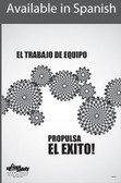 Teamwork Powers Success Safety Poster in SPANISH  pic 1