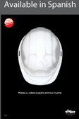 Protect Your Head Safety Poster in SPANISH  pic 1