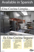 Clean Kitchen Poster in SPANISH  pic 1