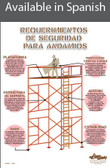 Scaffolding Safety Poster in SPANISH  pic 1