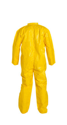 Tyvek QC Coveralls Standard Suit, Serged Seams, w/ Zipper  pic 2