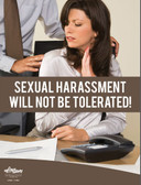 Sexual Harassment Not Tolerated Posters in ENGLISH  pic 1