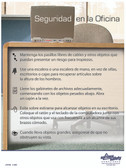 Office Safety Poster in SPANISH  pic 1