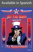 Uncle Sam Safety Poster in SPANISH  pic 1