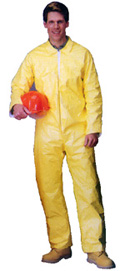 Tyvek QC Coveralls Sewn and Bound Seams Standard Suit  pic 1