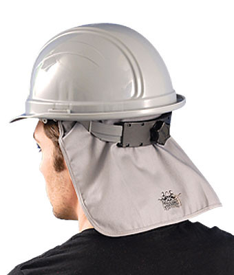 Deluxe Flame Retardant (FR) Grey Hard Hat Pad pic 1