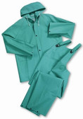 Westchester 2 Piece 40 mm, Green Chemical Suits All Sizes  pic 1