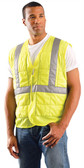 Occunomix Class IICooling Vests, Lime w/ SilverStripes  pic 1