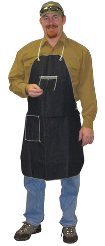 Denim Aprons 1 Swing Chest Pocket & 1 Hip Pocket  pic 2