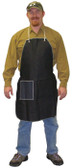 "Blue Denim Apron, 1 Hip Pocket, 28""x 36"" SINGLE  pic 1"