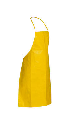 Tyvek QC Aprons, 28 by 36 inches, Yellow (100 ea)  pic 2