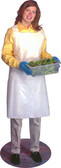 Vinyl Disposable Aprons 1.5 Mil Polyethylene Aprons  pic 1
