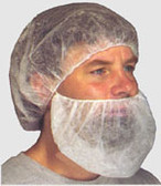 Polypropylene Beard Covers 21 Inch Beard Covers   pic 1