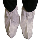 Polypropylene 13 inch tall White Boot Covers  pic 2