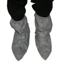 Tyvek Skid Resistant FC Gray Boot Covers (50 pair)  pic 2