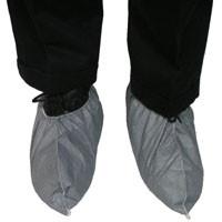 Tyvek Skid Resistant FC Gray Shoe Covers (100 pair)  pic 2