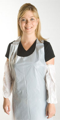 Promax Disposable White Aprons, 28 by 36 inches  pic 1