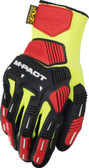 Mechanix ORHD Knit Utility Yellow Gloves, Part # KHD-GP - Back View