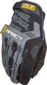 Mechanix M-Pact Black/Gray Gloves ~ Back View