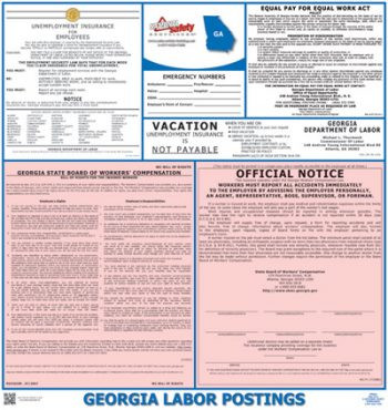 Georgia State Labor Law Posters