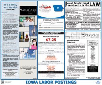 Iowa State Labor Law Posters