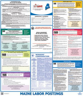 Maine State Labor Law Posters