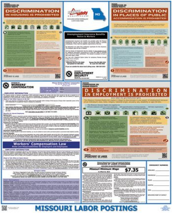 Missouri State Labor Law Posters