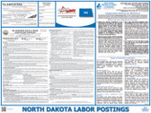 North Dakota State Labor Law Poster