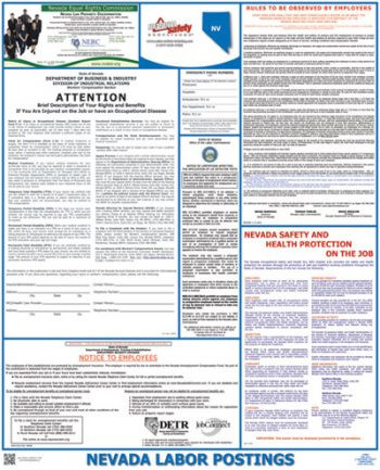 Nevada State Labor Law Posters