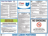 Ohio State Labor Law Poster