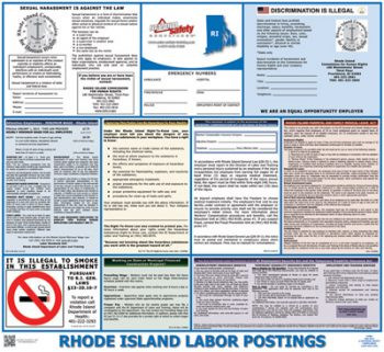 Rhode Island State Labor Law Poster