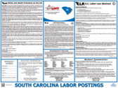 South Carolina State Labor Law Poster