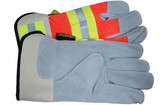 Luminator Hi-Vis Leather Palm w/ Reflective Stripes pic 3