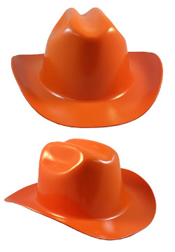 Cowboy Hardhat ~ Orange