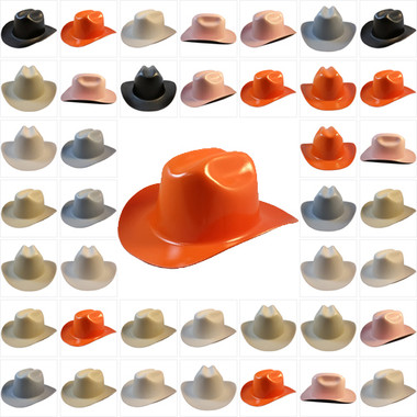 Outlaw Cowboy Hardhat with Ratchet Suspensions