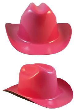 Cowboy Hardhat ~ Hot Pink