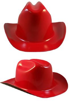 Cowboy Hardhat ~ Red