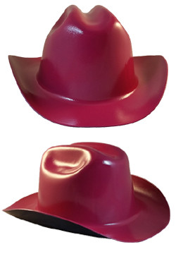 Cowboy Hardhat ~ Raspberry