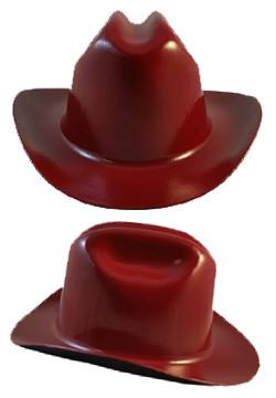 Cowboy Hardhat ~ Maroon