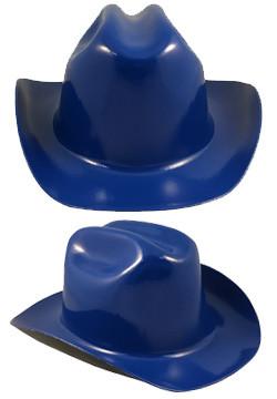 Cowboy Hardhat ~Royal Blue