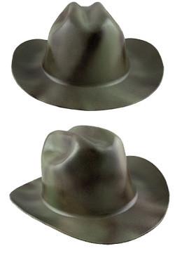 Cowboy Hardhat ~ Textured Gunmetal