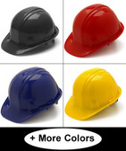 Pyramex 4 Point Cap Style Hard Hats All Colors