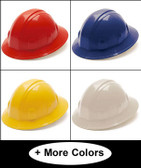 Pyramex 4 Point Full Brim Style Hard Hats